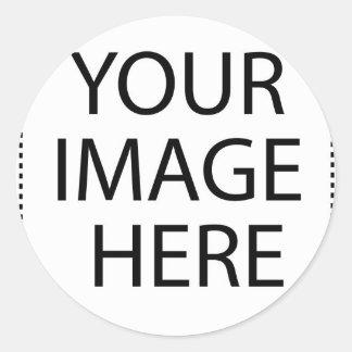 Achat-Aquarell-Karte Runder Aufkleber