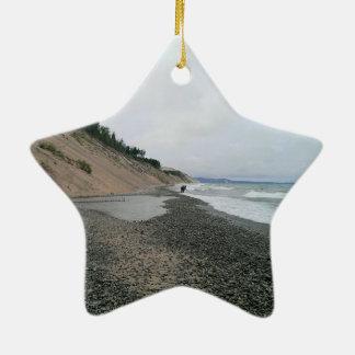 Achatstrand 2 keramik ornament