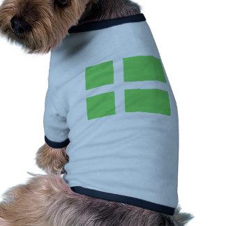 Achen Grönland Antrag Grönland-Flagge Haustier T-shirt