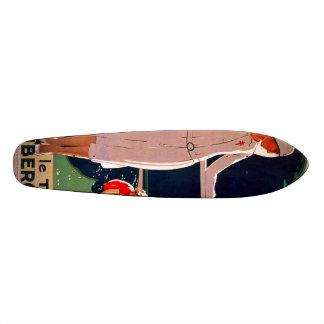Achetez le Timbre antituberculeux 21,6 Cm Skateboard Deck