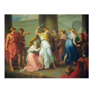 Achilleus erkannte, 1799 postkarte