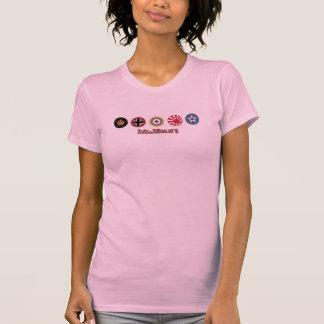 Achse u. Allies.org-Land-Markierungs-(rosa) T - T-Shirt