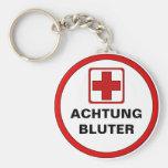Achtung – BLUTER Standard Runder Schlüsselanhänger