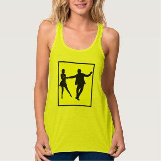Achtung! West Coast Swing Dancer Tank Top