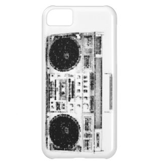 Achtzigerjahre Boombox iPhone 5C Hülle