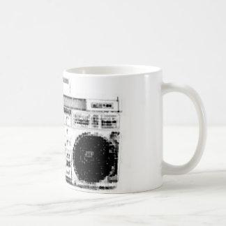Achtzigerjahre Boombox Kaffeetasse