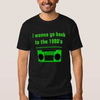 Achtzigerjahre Boombox Shirt - M - 2