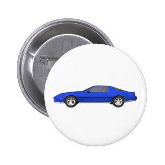 Achtzigerjahre Camaro Sport-Auto: Modell 3D: Buttons