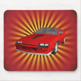 Achtzigerjahre Camaro Sport-Auto: Mousepad