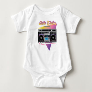 Achtzigerjahre Getto-Bläser boombox Baby Strampler