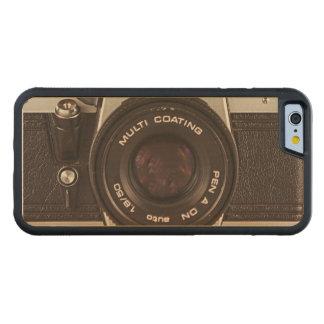 Achtzigerjahre Kamera Bumper iPhone 6 Hülle Ahorn