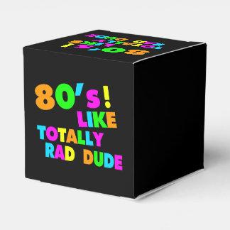 Achtzigerjahre mögen total krassen Typ Neon Geschenkschachtel