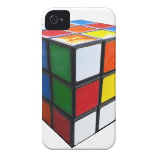 Achtzigerjahre Puzzlespiel-Würfel Case-Mate iPhone 4 Hülle
