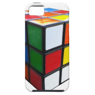 Achtzigerjahre Puzzlespiel-Würfel Tough iPhone 5 Hülle