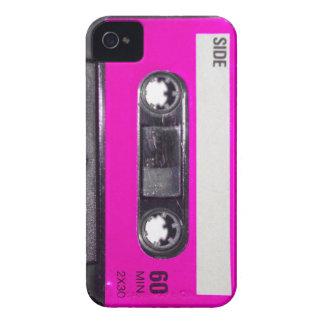 Achtzigerjahre Rosa-Aufkleber-Kassette Case-Mate iPhone 4 Hüllen