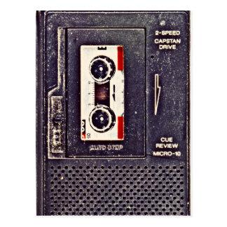 Achtzigerjahre Walkman Postkarte