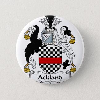 Ackland Familien-Wappen u. Familienwappen Runder Button 5,1 Cm