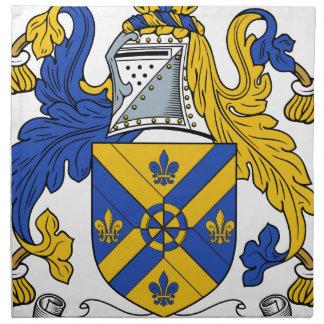Ackroyd Familien-Wappen u. Familienwappen Stoffserviette