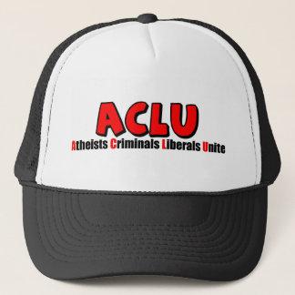 ACLU: Atheisten-Verbrecher-Liberale vereinigen! Truckerkappe