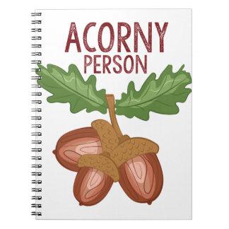 Acorny Person Notizblock