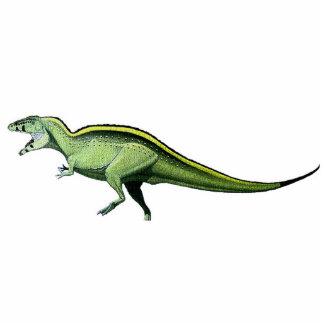 Acrocanthosaurus-Dino-Foto-Skulptur Gregory Paul Freistehende Fotoskulptur