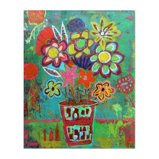 Acryl-Wand-Kunst des Sommer-Spray-16 x 20 Acryldruck