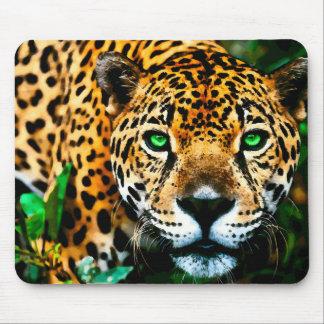 AcrylJaguar-Tier-Kunst Mauspad