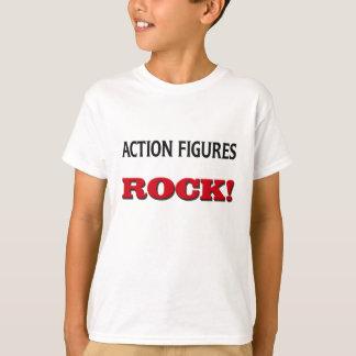 Action-Figur-Felsen T-Shirt