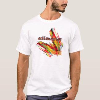 ActionScript- Mehrfarbencode-Strudel T-Shirt