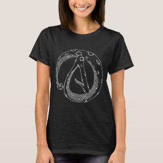 Actopus - das T-Stück der Frauen (dunkel) T-Shirt