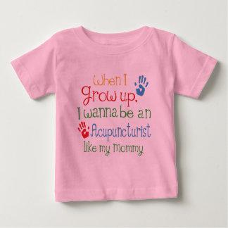 Acupuncturist (Zukunft) wie meine Mama Baby T-shirt
