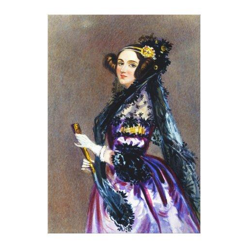 Ada-König Countess von Lovelace durch Alfred Galerie Faltleinwand