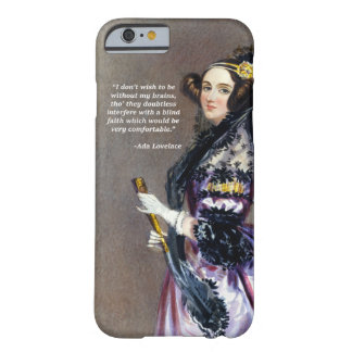 Ada Lovelace (Porträt durch Alfred Chalon) Barely There iPhone 6 Hülle