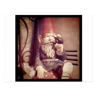 Adam der Gnome Postkarte