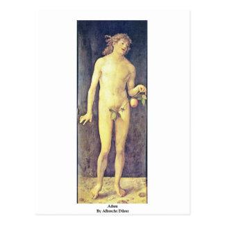 Adam durch Albrecht Dürer Postkarte