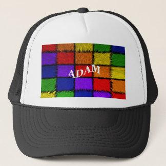 ADAM (männliche Namen) Truckerkappe
