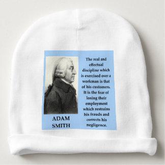 Adam-Smithzitat Babymütze