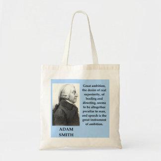 Adam-Smithzitat Tragetasche