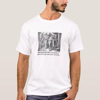 """Adam und Eve vertrieben """"vom Garten Eden"""" Verein T-Shirt"""