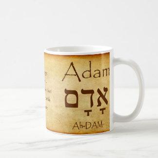 ADAMhebräische NamensTasse Kaffeetasse