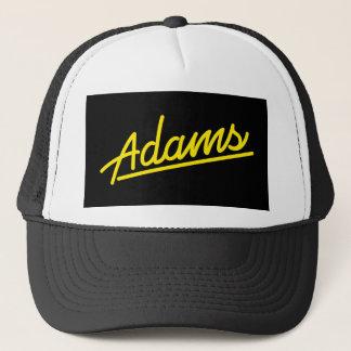 Adams im Gelb Truckerkappe