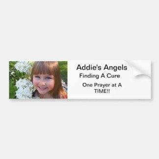 Addie; s-Engel Stoß Autoaufkleber
