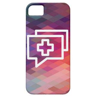 Addieren des Gesprächs-Piktogramms iPhone 5 Case