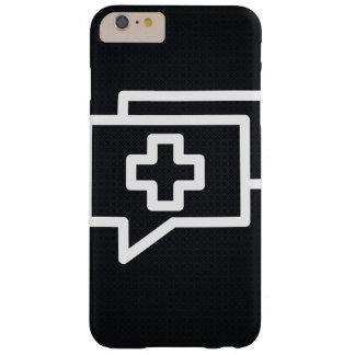 Addieren des Gesprächs-Piktogramms Barely There iPhone 6 Plus Hülle
