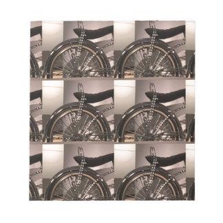 Addieren grafische Dekoschablone der Notizblock