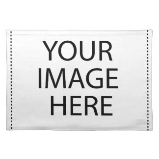 Addieren Sie Bild-Text-Logo hier machen Ihren Stofftischset