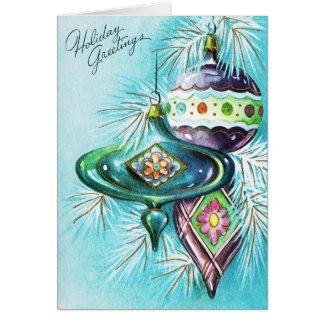 addieren Sie Birnen-Weihnachtskarte der Mitteilung Karte