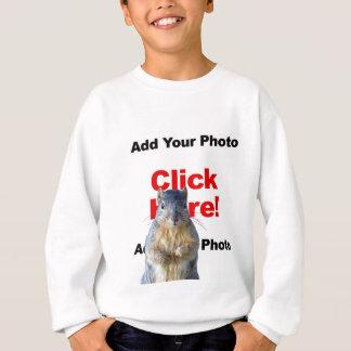 Addieren Sie das Sweatshirt eines