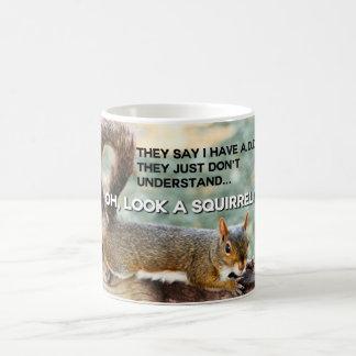 ADDIEREN Sie Eichhörnchen-Foto Kaffeetasse
