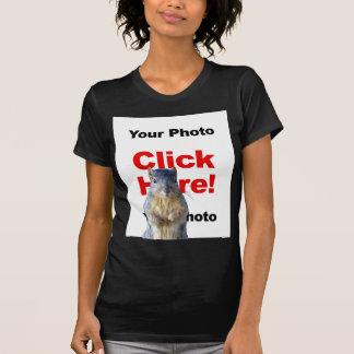 Addieren Sie einen Eichhörnchen-kundenspezifischen T-Shirt
